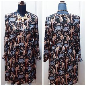 💎NEW Ann Taylor LOFT Bird Dress